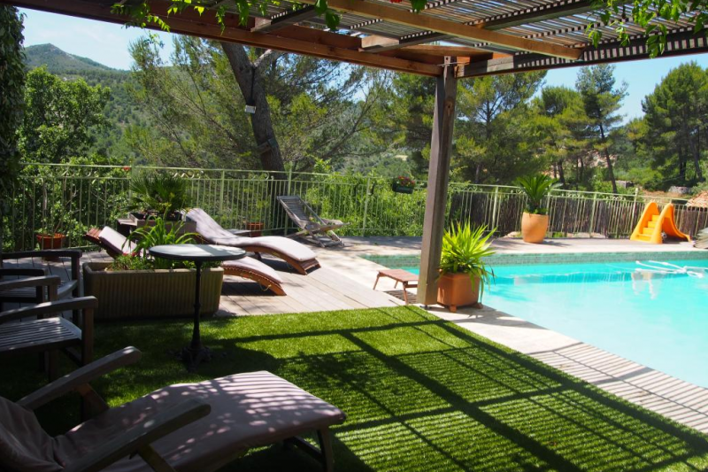 En provence appartement avec piscine priv e home for - Appart hotel montpellier avec piscine ...