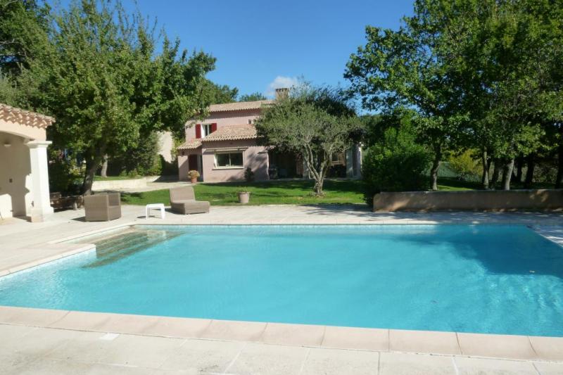 Maison avec piscine en drome proven ale home for exchange - Vacances drome provencale avec piscine ...